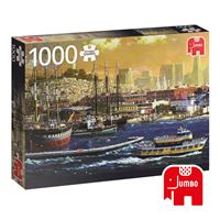 Puzzle San Francisco Bay USA - 1000 Peças - Jumbo