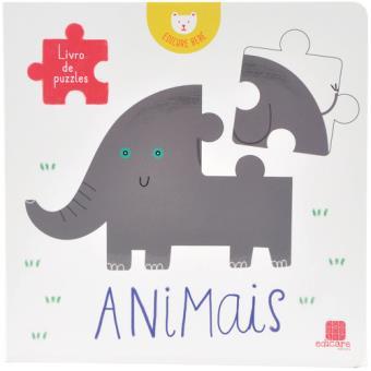 Livro de Puzzles: Animais