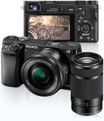 Sony Alpha α6000 + SEL1650 16-50mm f/3.5-5.6 PZ OSS + SEL55210 55-210mm f/4.5-6.3 OSS (Preto)