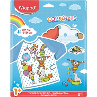 Bata de Pintor Maped Color'Peps Early Age 18M-5A