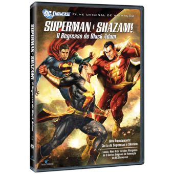 Superman e Shazam: O Regresso de Black Adam - DVD