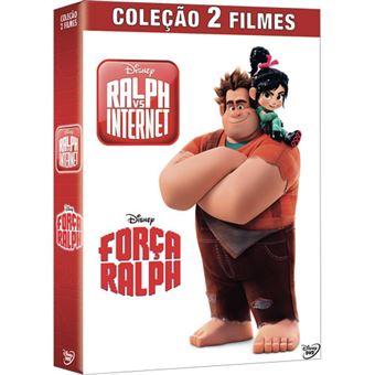 Pack Força Ralph + Ralph vs Internet - 2 DVD