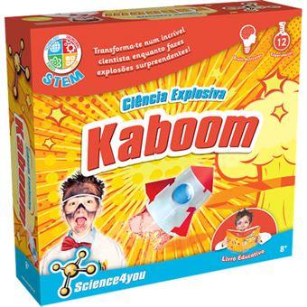 Ciência Explosiva: Kaboom - Science4you