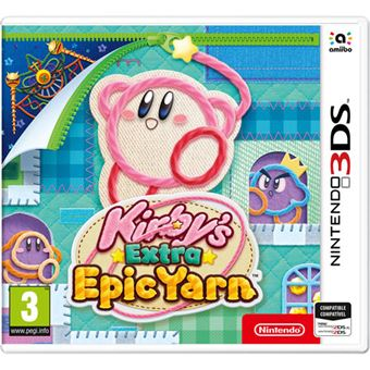 Kirby's Epic Extra Yarn - Nintendo 3DS