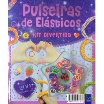 Kit Divertido Pulseiras de Elásticos