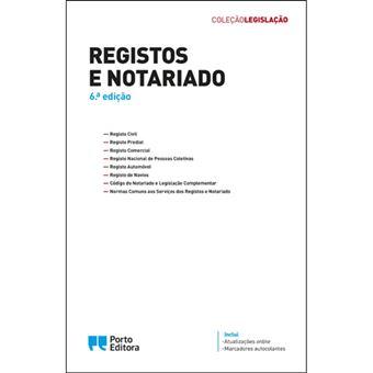 Registos e Notariado – Edição Académica