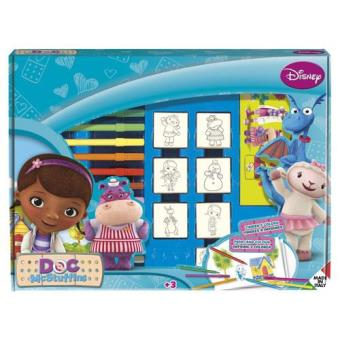 Doutora Brinquedos - Caixa de 7 Carimbos