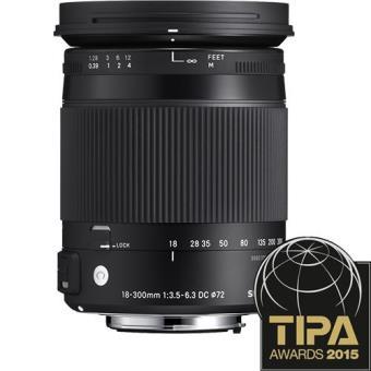 Sigma Objetiva 18-300mm f/3.5-6.3 (C) DC Macro OS (Canon)