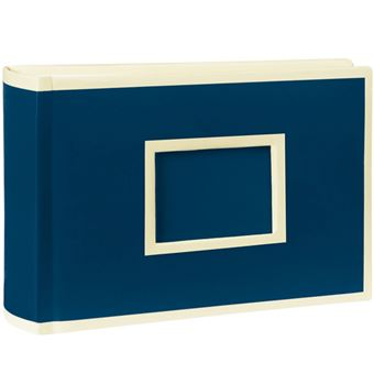Álbum Para Fotografias Semikolon Pockets Landscape Azul Escuro - 100 Fotografias