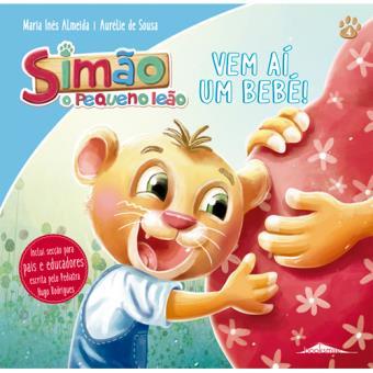 Simão, o Pequeno Leão - Livro 4: Vem aí um Bebé!