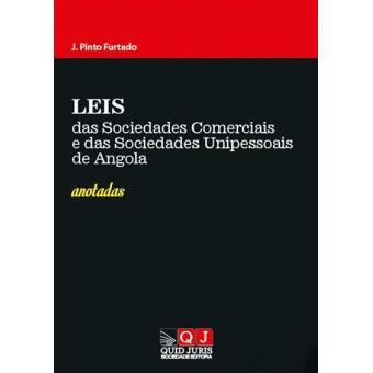 Leis das Sociedades Comerciais e das Sociedades Unipessoais de Angola