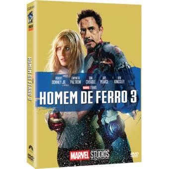 Homem de Ferro 3 - Capa de Colecionador - DVD