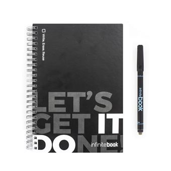 Caderno Infinitebook A5 + Caneta: Let's get it done!