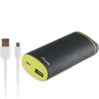 Power Bank Muvit  5000mAh - Preto + Cabo Micro USB