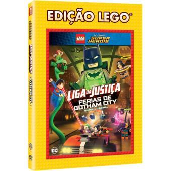 LEGO DC Comics Super Heróis: Liga da Justiça - Férias de Gotham City (DVD)