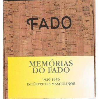 Memorias do Fado - Masculino (Box)