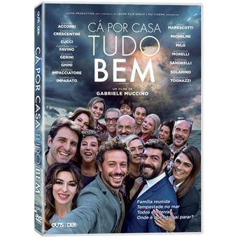 Cá Por Casa Tudo Bem - DVD