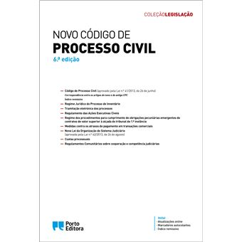 Novo Código de Processo Civil - Edição Académica