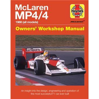 Mclaren mp4/4 owners' workshop manu