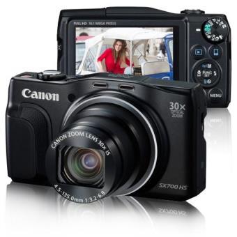 Canon PowerShot SX700 HS (Preto)
