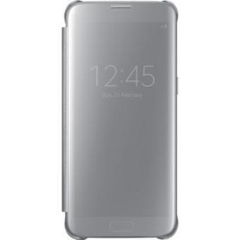 Samsung Capa Clear View para Samsung Galaxy S7 (Prateado)