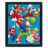 Poster Lenticular Super Mario: Power Up