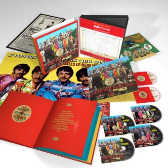 Sgt. Pepper's Lonely Hearts Club Band (50th Anniversary Edition)(Deluxe Box) (4CD, Blu-ray Disc, DVD)