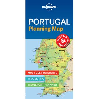 Lonely Planet Planning Map - Portugal