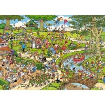 Puzzle El Parque Comic (1000 peças)