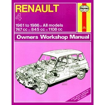 Renault 4 owners workshop manual