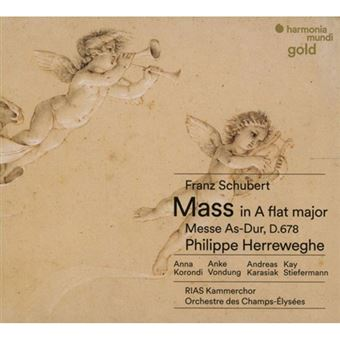 Schubert: Mass No. 5, D678 & Mendelssohn: Psalm 42 - CD