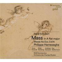 Schubert: Mass No. 5, D678 & Mendelssohn: Psalm 42 - CD
