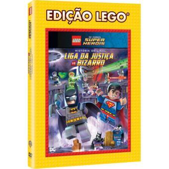 LEGO DC Comics Super Heróis: Liga da Justiça vs Bizarro (DVD)