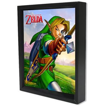 Poster 3D The legend of Zelda: Ocarina Arrow