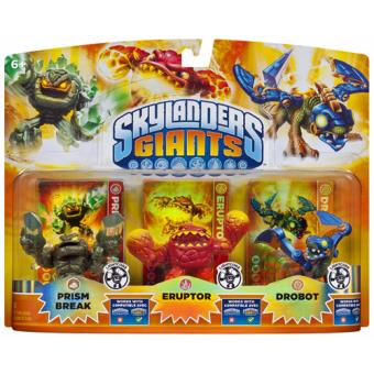 Skylanders: Giants - Triple Pack Luz E (Exclusivo Fnac)