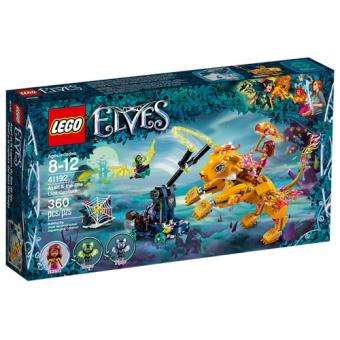 LEGO Elves 41192 Azari e a Captura do Leão do Fogo
