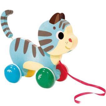 Brinquedo de Puxar - Gato