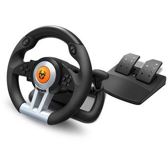 Volante + Pedais Nox Krom K-Wheel