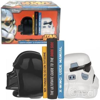 a7031b781 Star Wars Darth Vader   Stormtrooper Ceramic Bookends - Star Wars ...