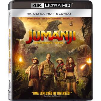 Jumanji: Bem-Vindos à Selva - 4K Ultra HD + Blu-ray + Oferta de Jogo