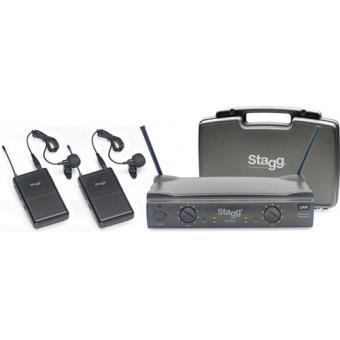 Wireless 2x Micro Lapela SUW50 Stagg