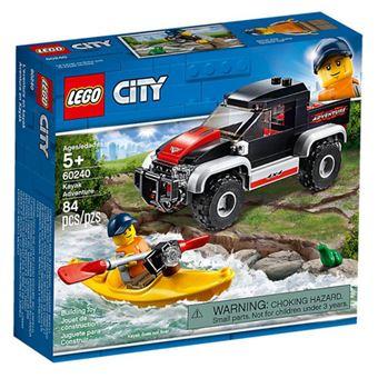 LEGO City Great Vehicles 60240 Aventura com Caiaque