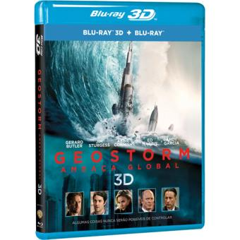 Geostorm - Ameaça Global - Blu-ray 3D + 2D