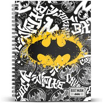 Caderno Quadriculado Batman A4