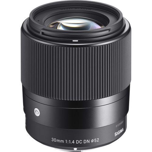 SIGMA - Objetiva Sigma 30mm f/1.4 DC DN para Sony E
