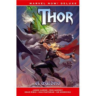 Thor 2-el maldito-marvel now deluxe