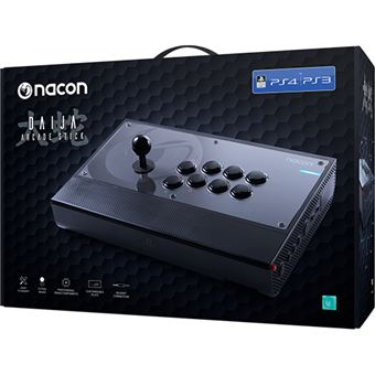 Comando Nacon Daija Arcade Com Fio - Preto