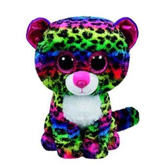 Peluche Leopardo Colorido 15 cm