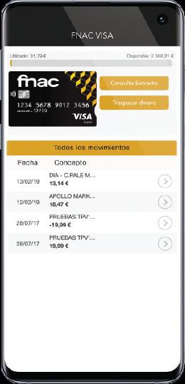 App Cartão FNAC