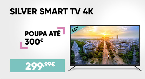 Silver Smart TV 4K